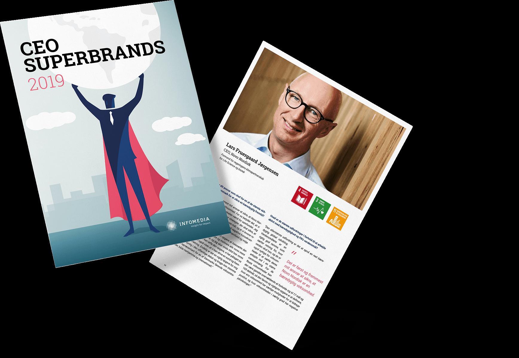 Infomedia CEO superbrands