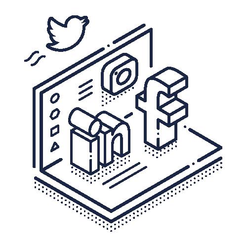 Infomedia digitale platforme til sociale medier